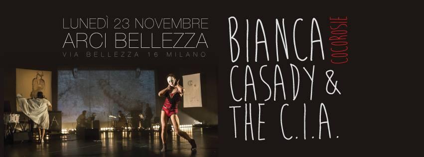 ARCI BELLEZZA LUNEDI' 23 NOVEMBRE-BIANCA CASADY