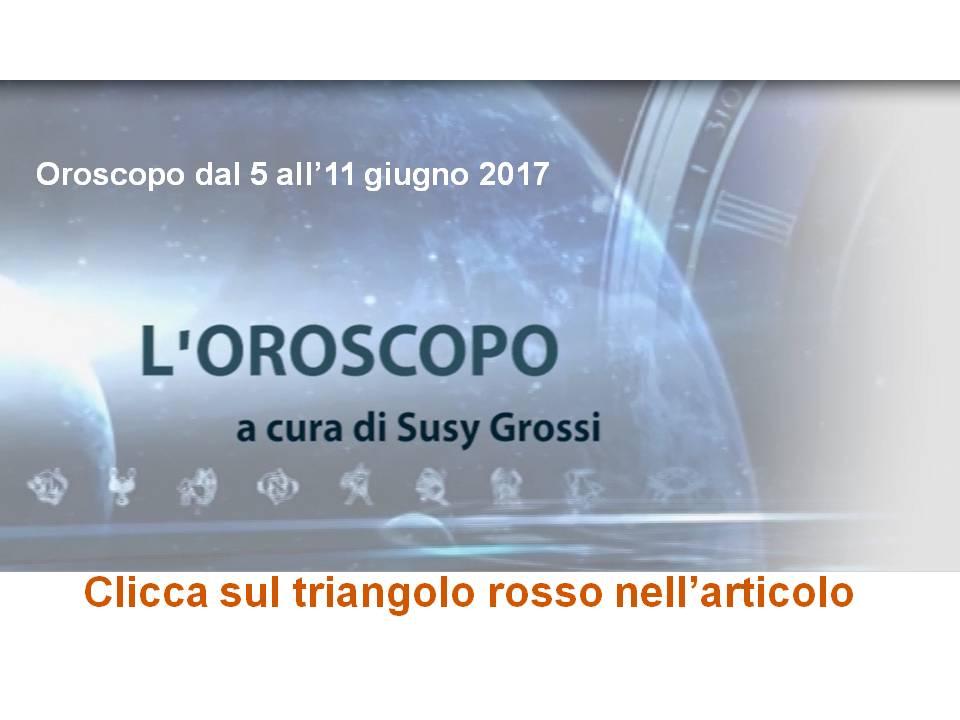 SUSY GROSSI RACCONTA I SEGNI DAL 5 ALL'11 GIUGNO 2017