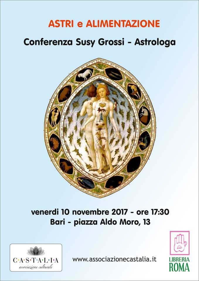 OROSCOPO DI SUSY GROSSI DAL 27 NOVEMBRE AL 3 DICEMBRE 2017