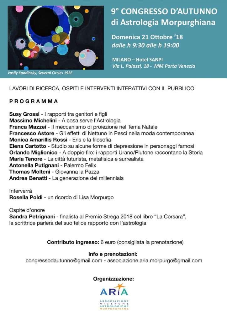 OROSCOPO DI SUSY GROSSI DAL 19 AL 25 NOVEMBRE 2018