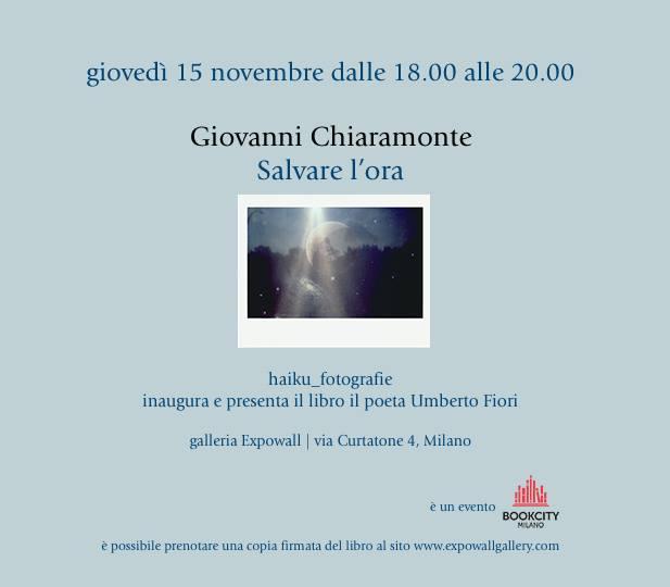 CHIARAMONTE IL FOTOGRAFO DALL'ANIMOPOETICO GIAPPONESE